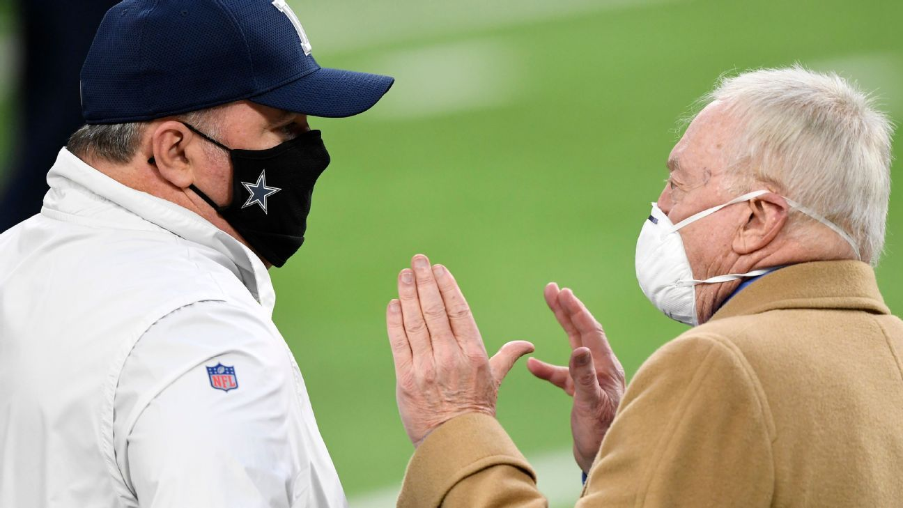 Jerry Jones confident Dallas Cowboys' vaccination percentage 'will not limit us in any way'
