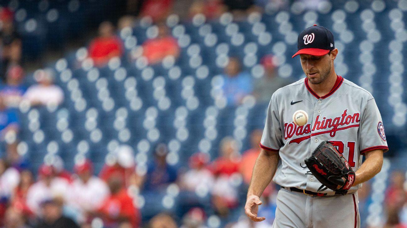 Max Scherzer focuses on positives in possible Washington Nationals finale