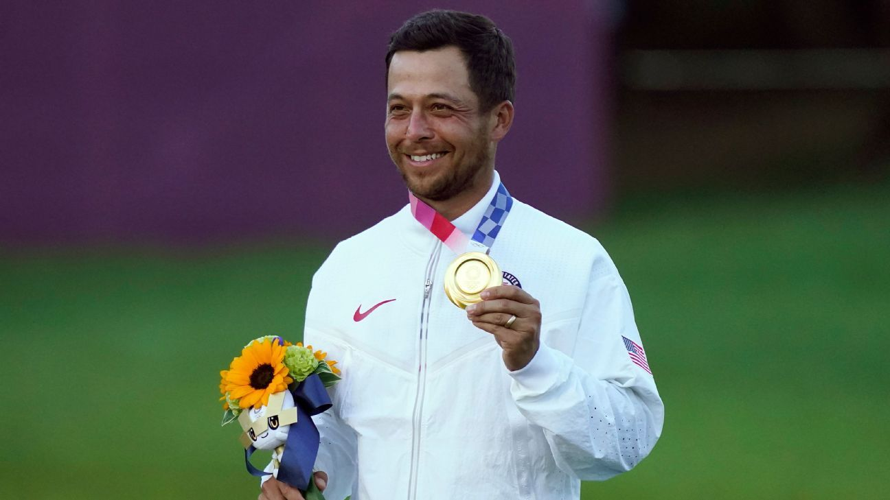 Xander Schauffele goes from oh-so-close to Olympic gold