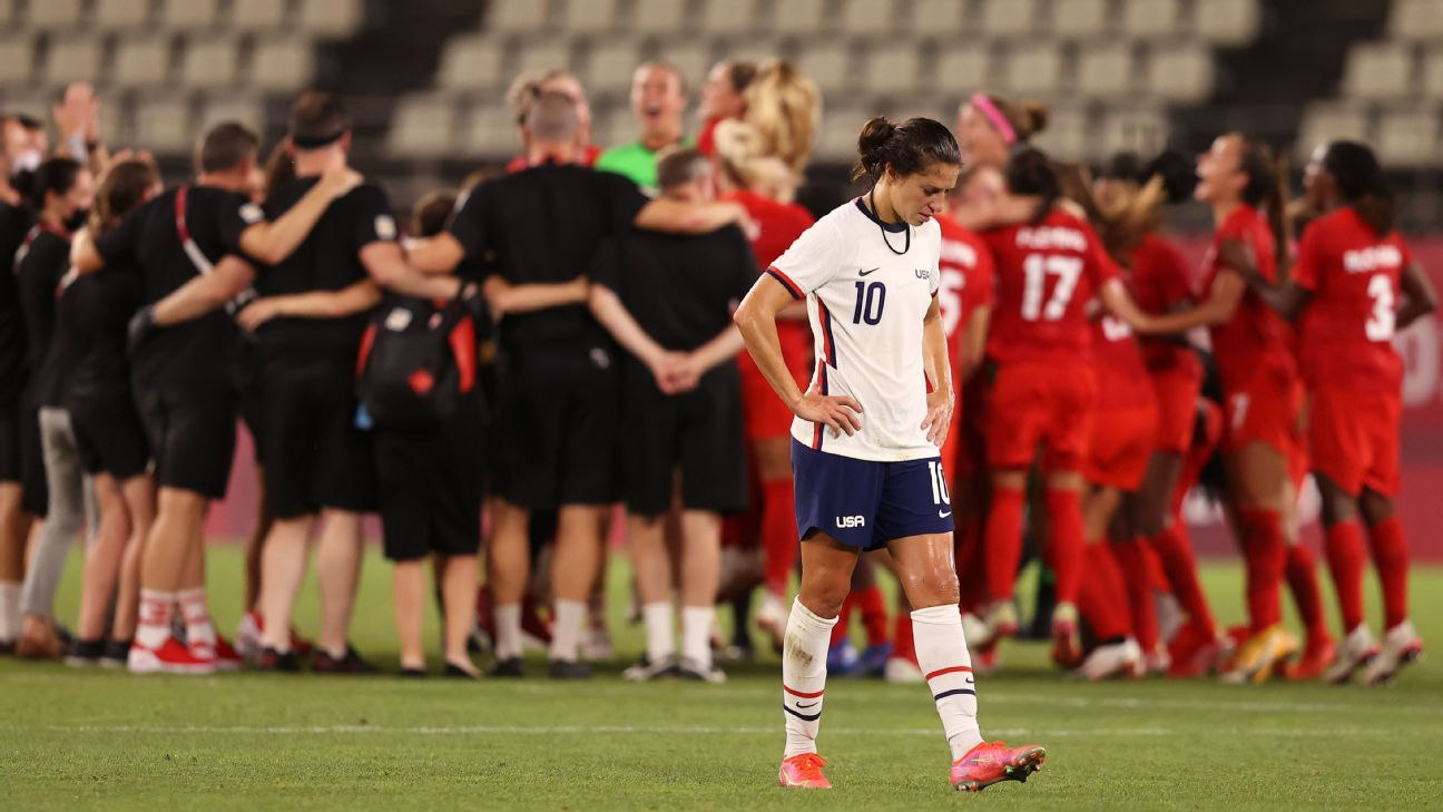 Canada Defeats U.S. Women's Soccer Team for First Time Since 2001 to Reach Tokyo Olympic's Gold Medal Game