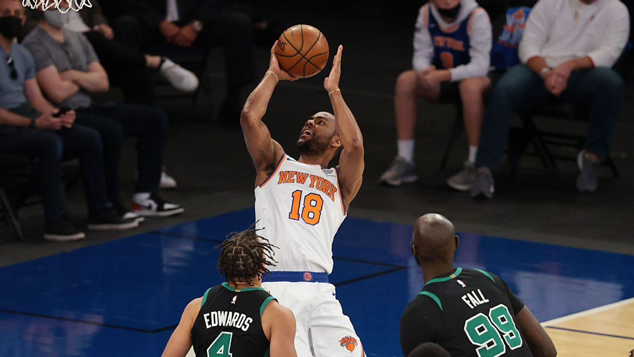 Knicks to re-sign Burks, sources say; Noel, too thumbnail