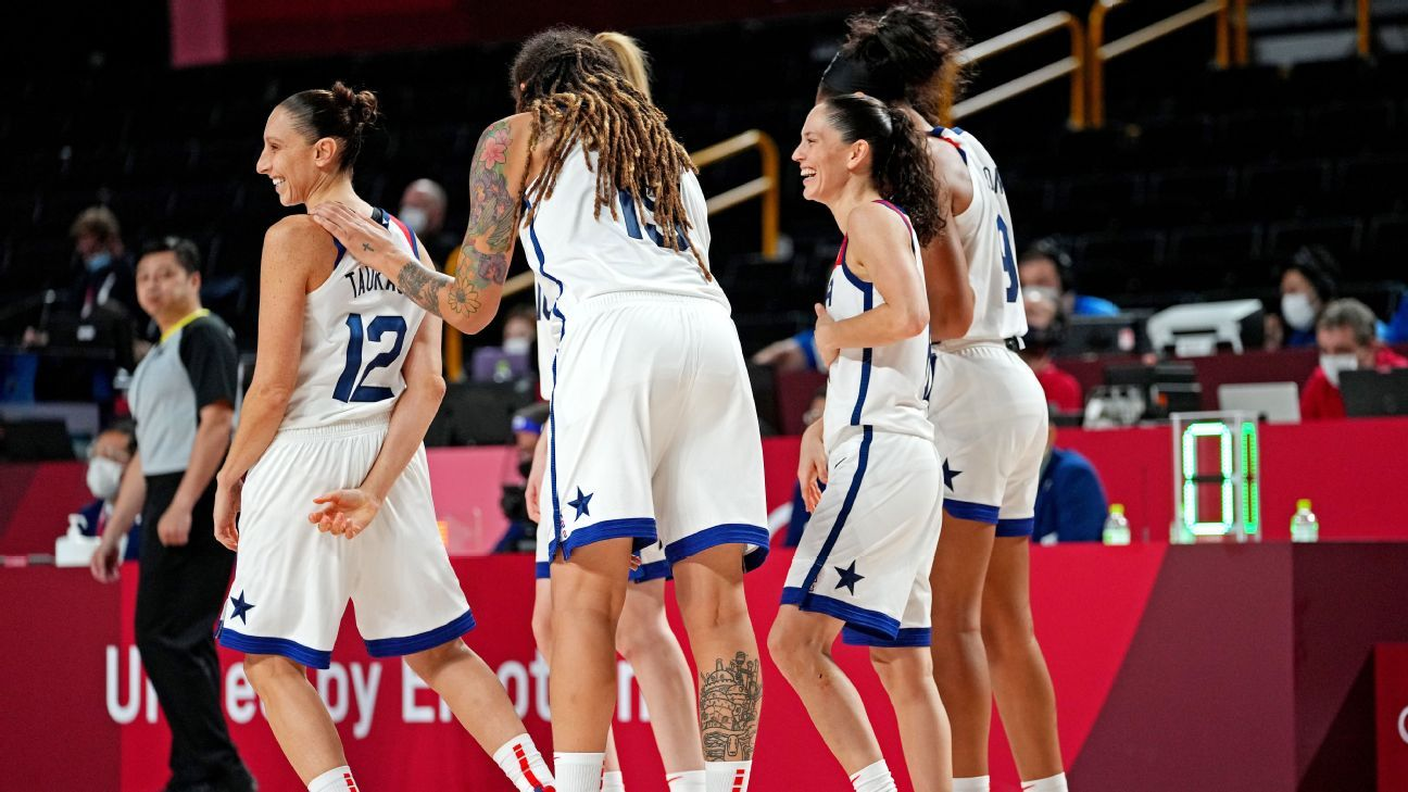 U.S. women roll, to vie for 7th straight hoops gold thumbnail