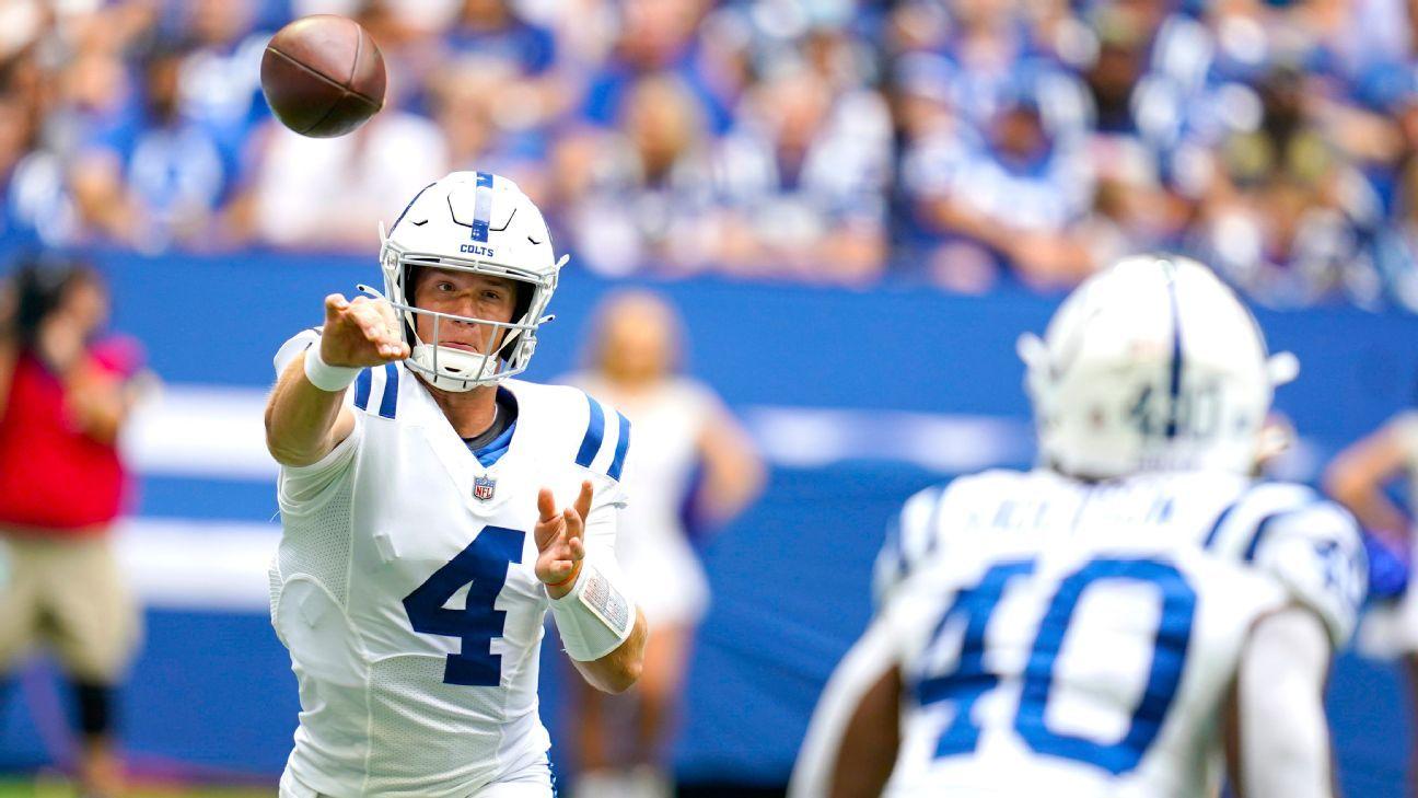 NFL preseason Week 1 takeaways: Jacob Eason, Sam Ehlinger battle to become Colts' backup QB in victory thumbnail