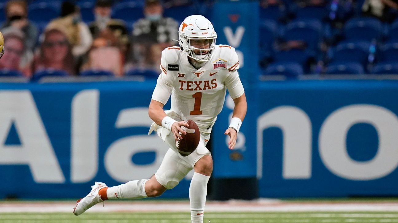 Texas QB Hudson Card to start season opener, but Casey Thompson to also get playing time