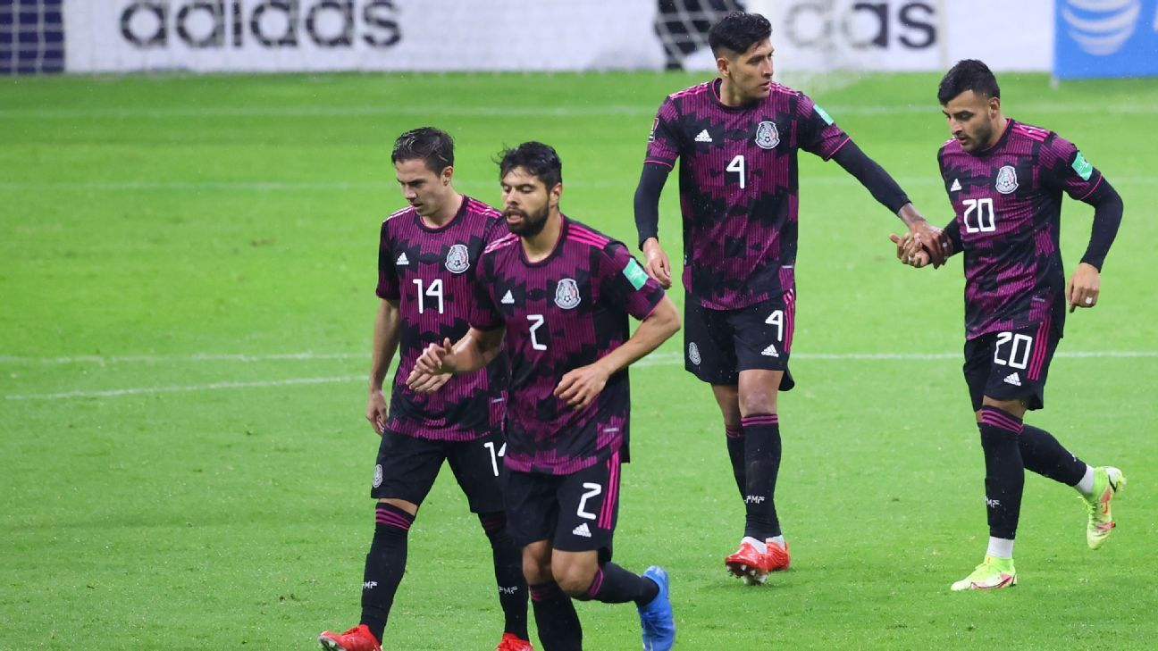 Mexico vs. Jamaica - Football Match Report - September 2, 2021 - ESPN