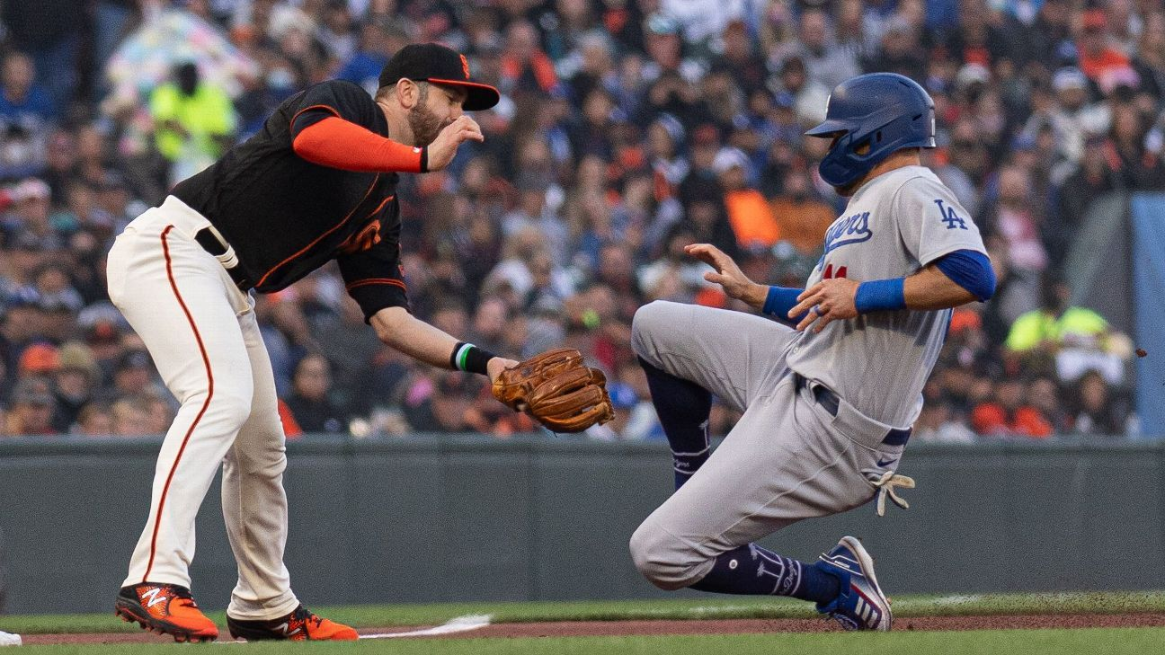 Los Angeles Dodgers' AJ Pollock out at least 2-3 weeks with hamstring injury, Dave Roberts says