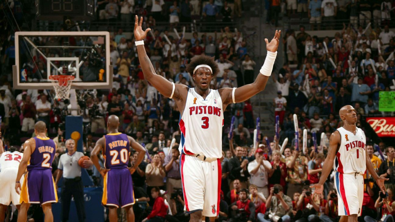 How a 2004 NBA Finals win over Shaq, Kobe and the Lakers cemented Ben Wallace's Hall of Fame legacy