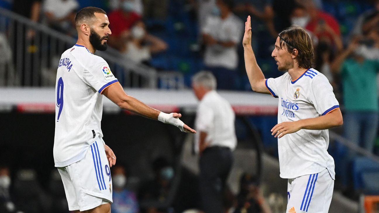 Real Madrid vs. Celta Vigo - Football Match Report - September 13, 2021 - ESPN