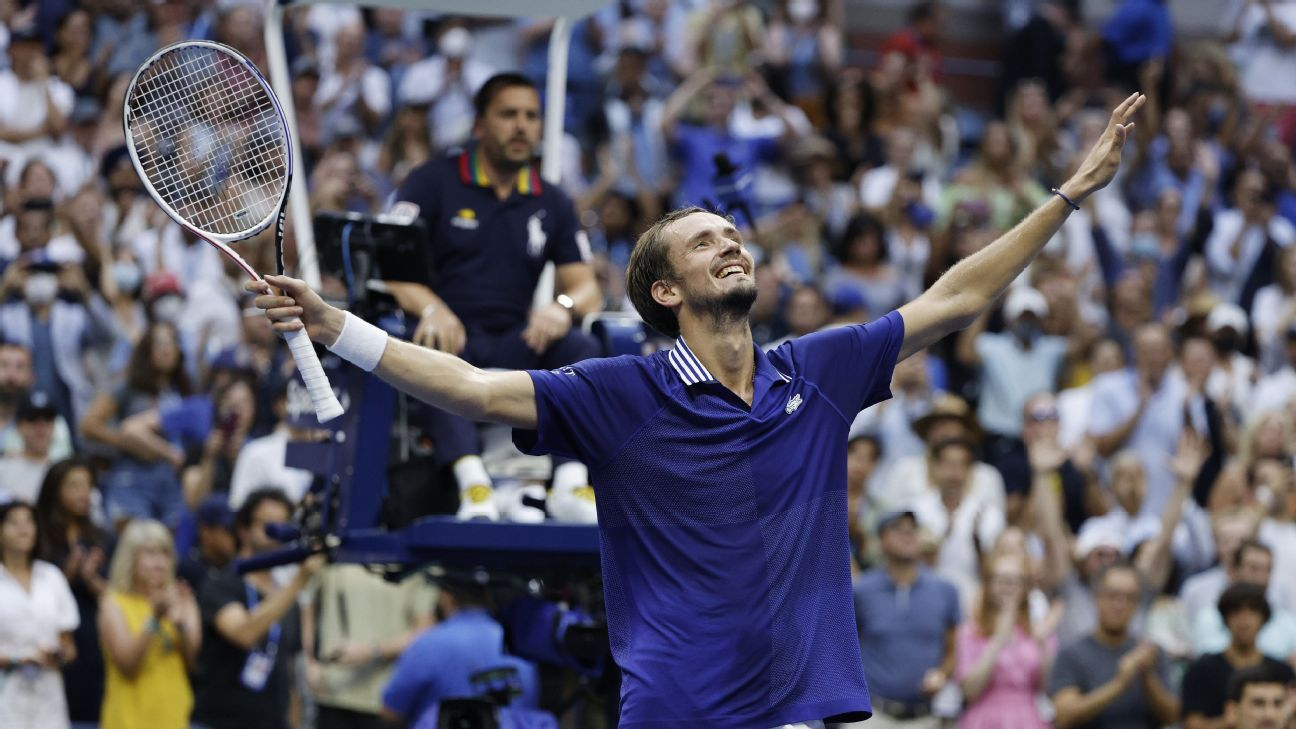 US Open 2021 - Daniil Medvedev beats Novak Djokovic at his own game to lock up first Grand Slam title
