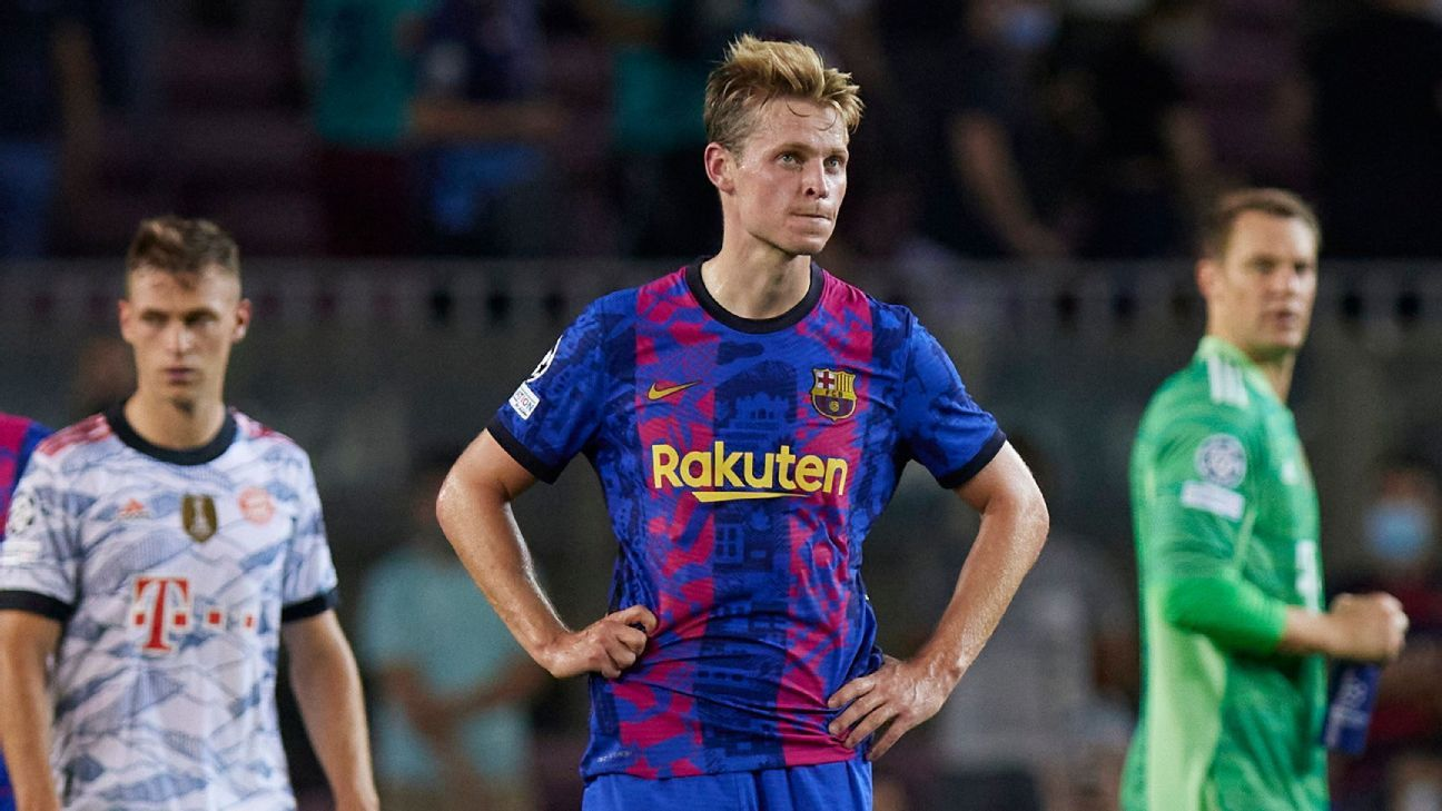 Barcelona's decline is no surprise, it's their new reality