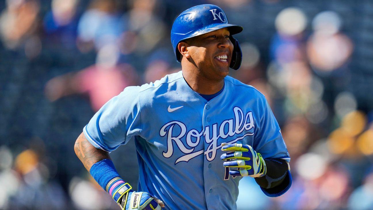 Royals' Perez ties Bench's HR mark for catcher