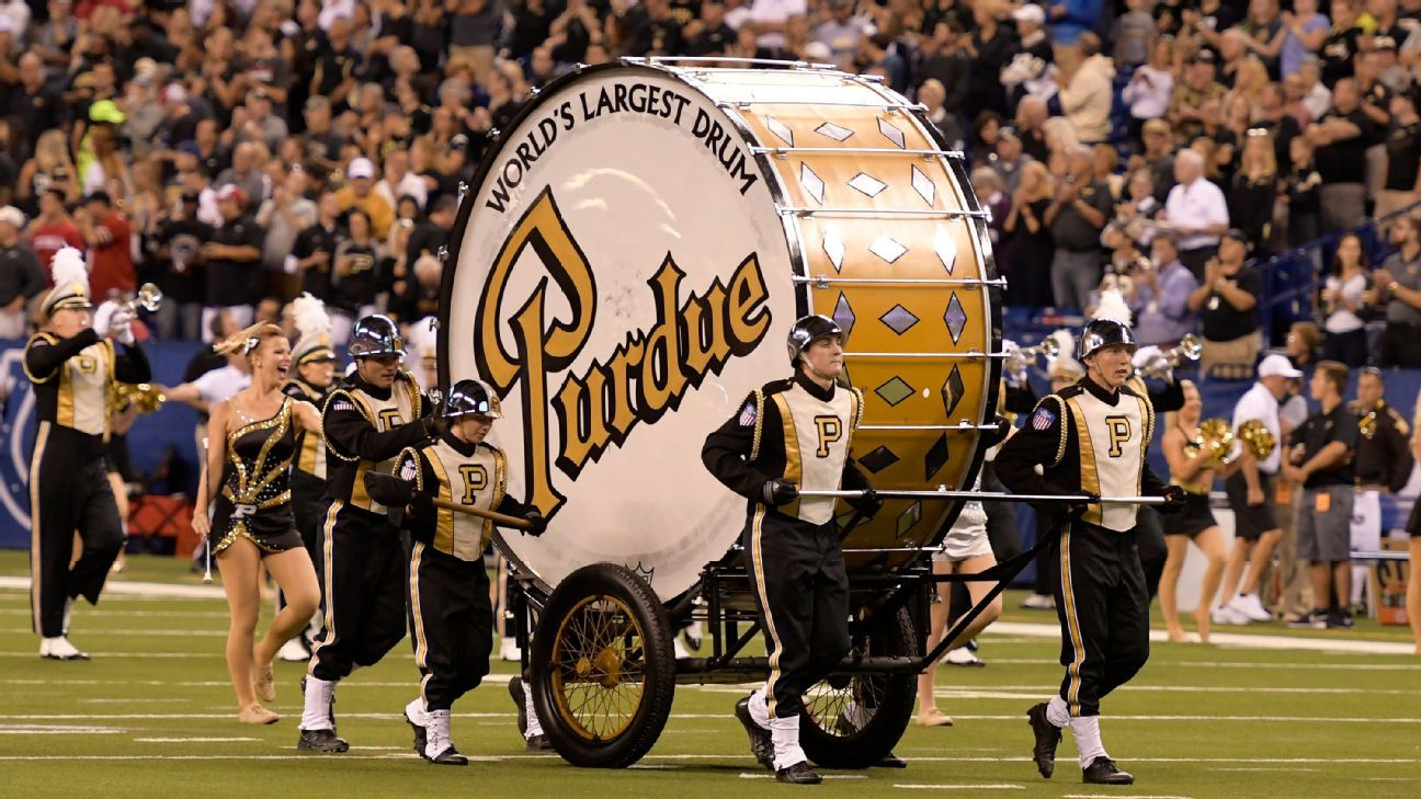 Purdue's band to be without World's Largest Drum vs. Notre Dame, first time since 1979