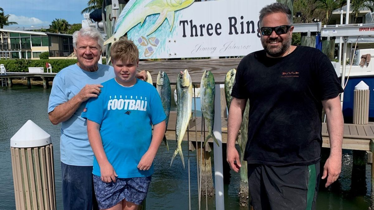 How fishing with HOF coach Jimmy Johnson reinforced Matt Rhule's plan for the Panthers