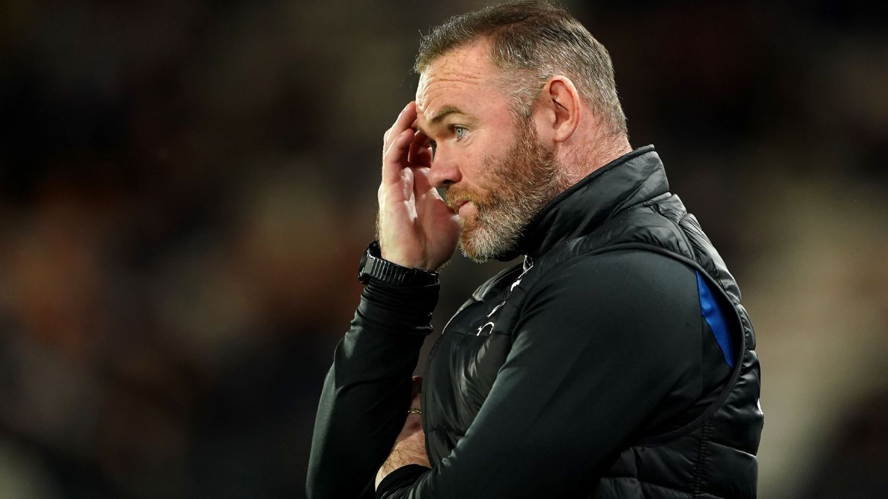 Wayne Rooney's Derby County handed 12-point deduction after entering administration - ESPN
