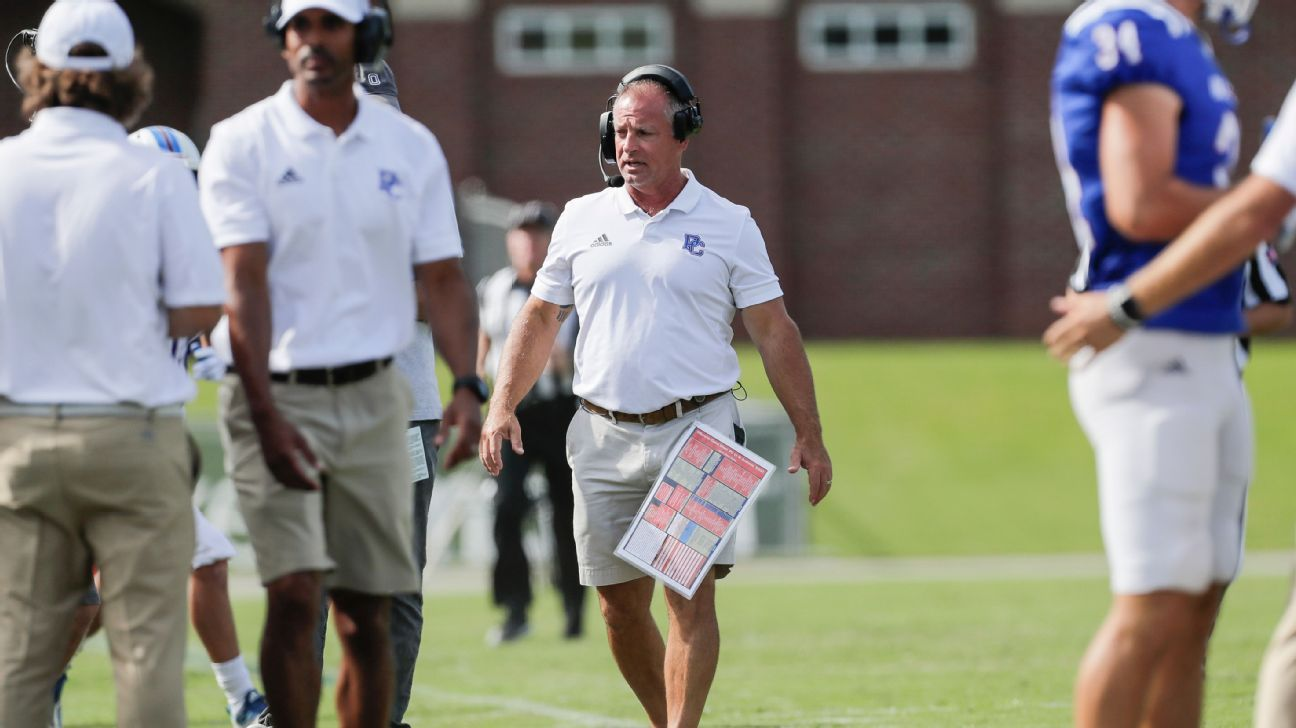 Presbyterian's Kevin Kelley and a new college football philosophy