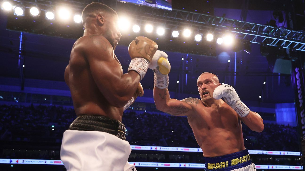 Boxing lost its biggest fight in Fury-Joshua, but gained a star in Oleksandr Usyk