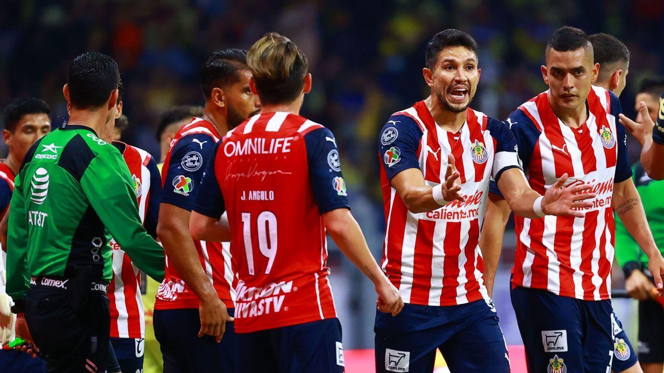 Las calificaciones de Chivas luego del empate sin goles frente al América