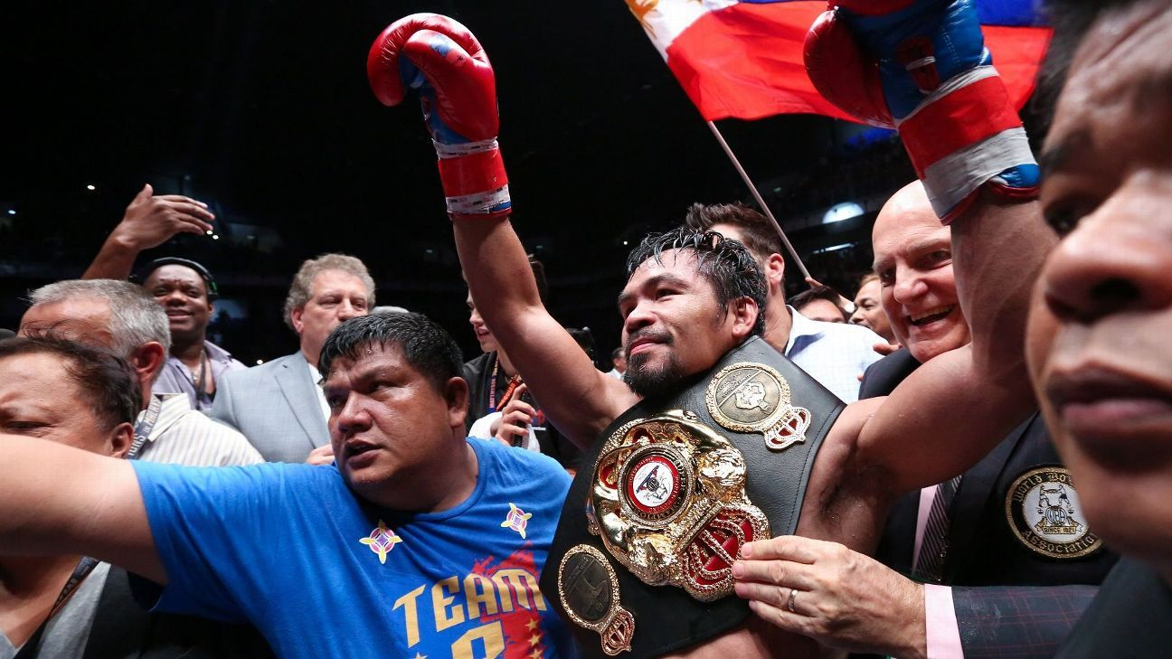 Manny Pacquiao, only eight-division champion in boxing history, announces retirement