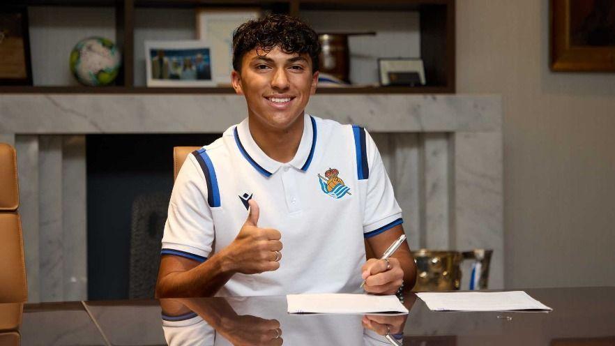 Jonathan Gómez, defensa mexicoamericano, fue contratado por la Real Sociedad