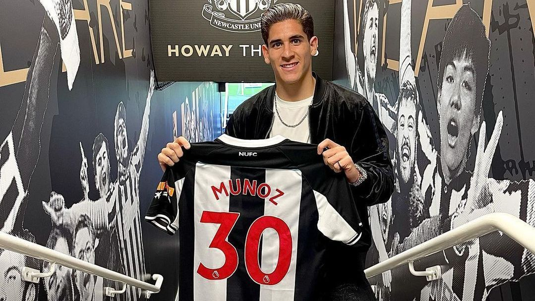 Santi Muñoz realizará acondicionamiento físico con Newcastle