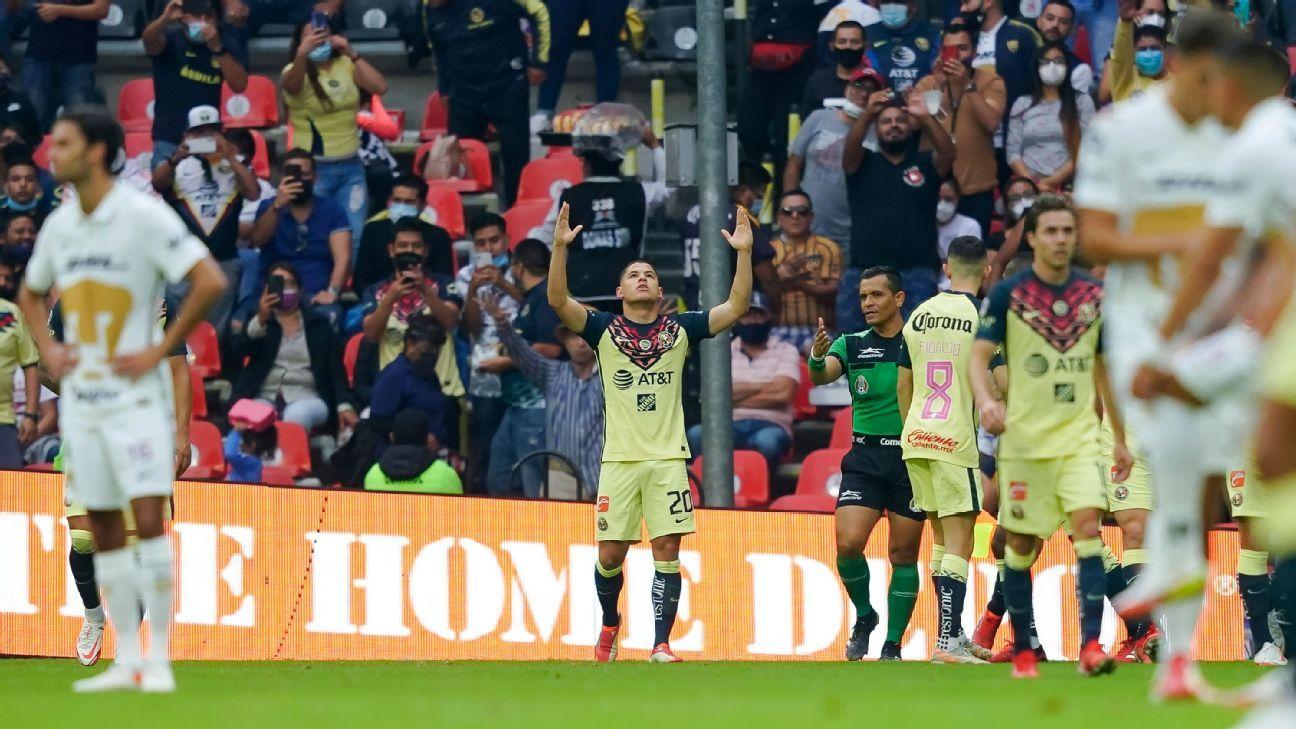 Las razones de la derrota de Pumas ante América en la Fecha 12