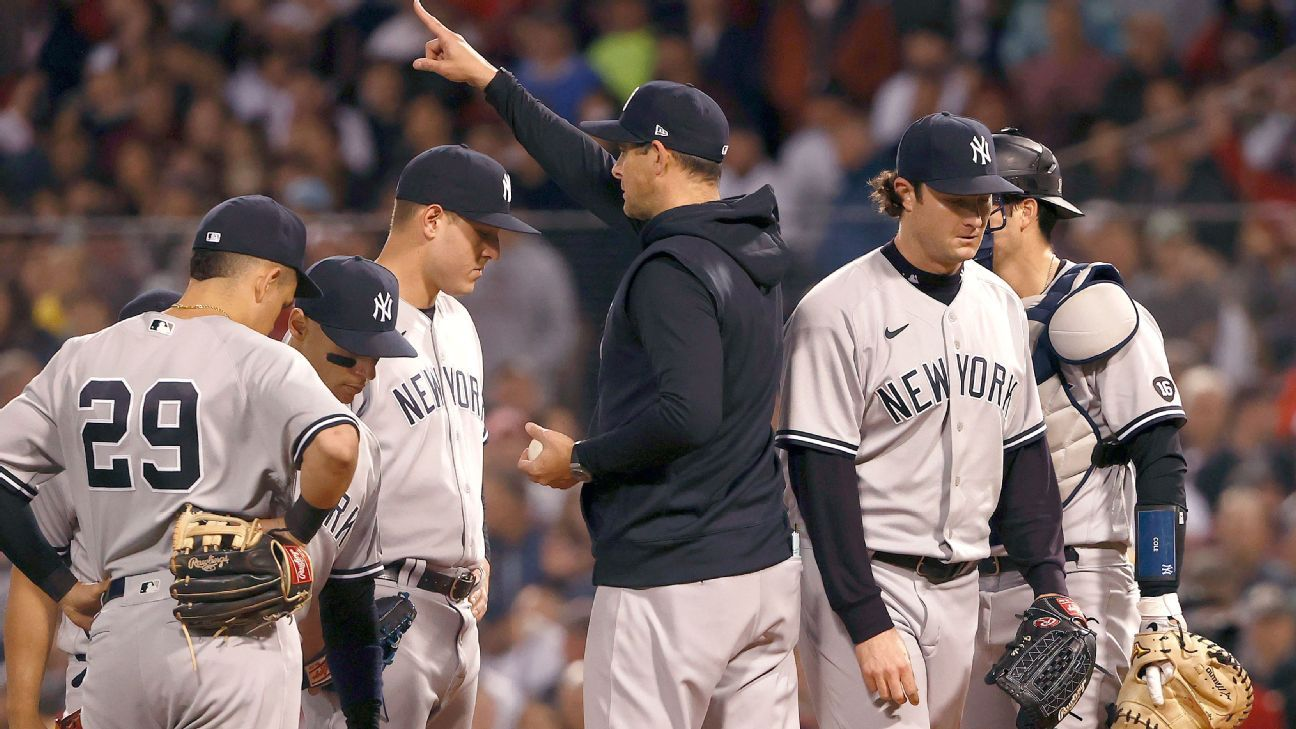 Yankees manager Aaron Boone 'at peace' with future up in air as New York's season ends