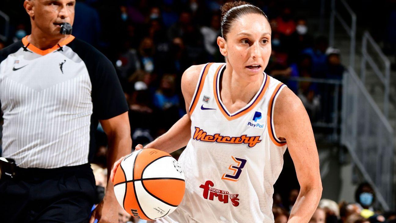 Phoenix Mercury's Diana Taurasi hopes to keep playing at least through 2022 season