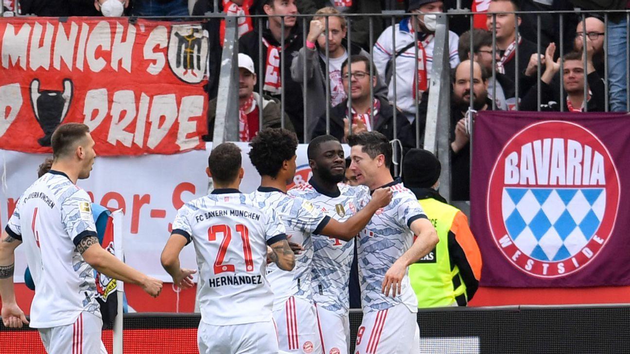 Weekend review: Bayern brilliant; Salah sensational