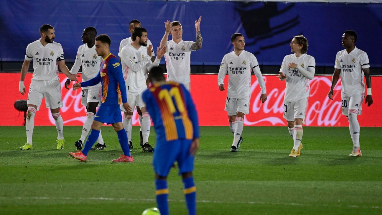 Barcelona vs. Real Madrid, El Clasico, tactical preview: Form guide, predicted XIs, players to watch, more