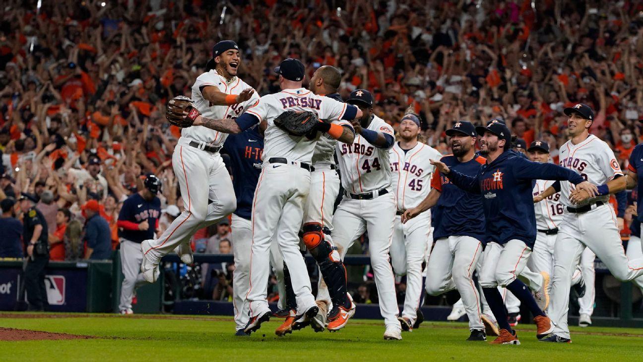 Luis Garcia, Yordan Alvarez send Houston Astros to third World Series in five years