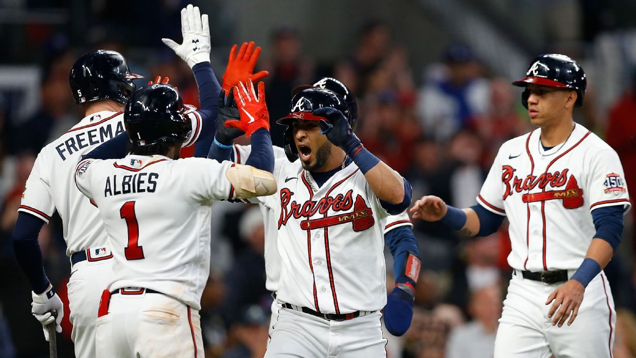 Atlanta Braves back in World Series for first time since 1999 after upsetting Dodgers in NLCS