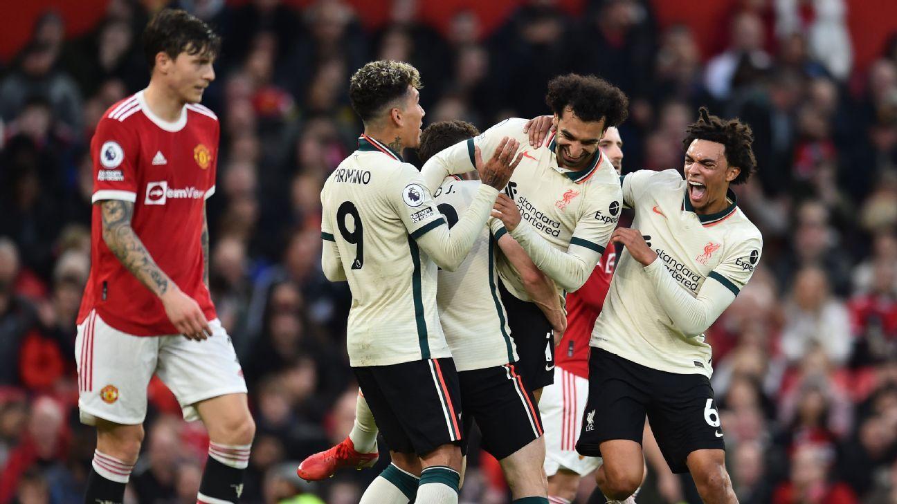 Manchester United vs. Liverpool - Football Match Report - October 24, 2021 - ESPN