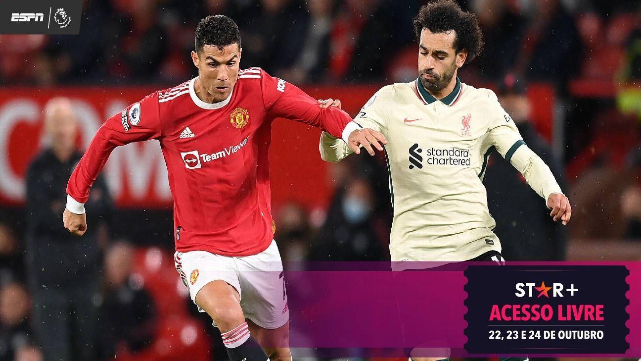 Os números de Salah que tirarão Cristiano Ronaldo e a torcida do United do sério em 2021