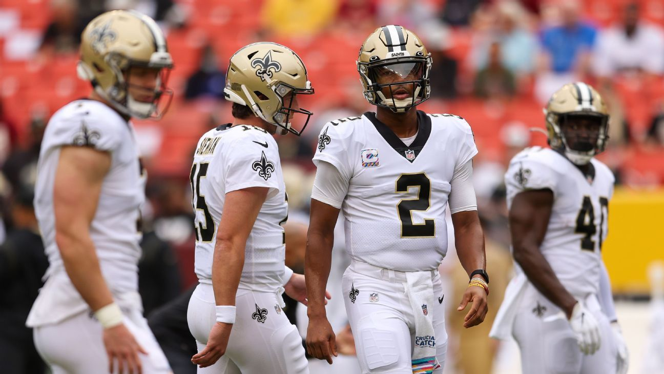 Why the Saints, Jameis Winston have incomplete report card through six weeks