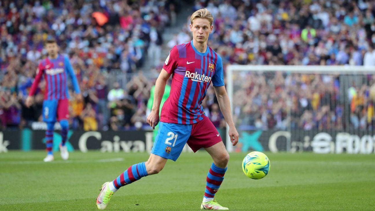 Transfer Talk: Bayern, Manchester City interested in Barcelona's De Jong