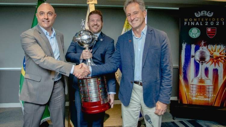 Conmebol, Flamengo e Palmeiras firmam compromisso por final da Libertadores segura