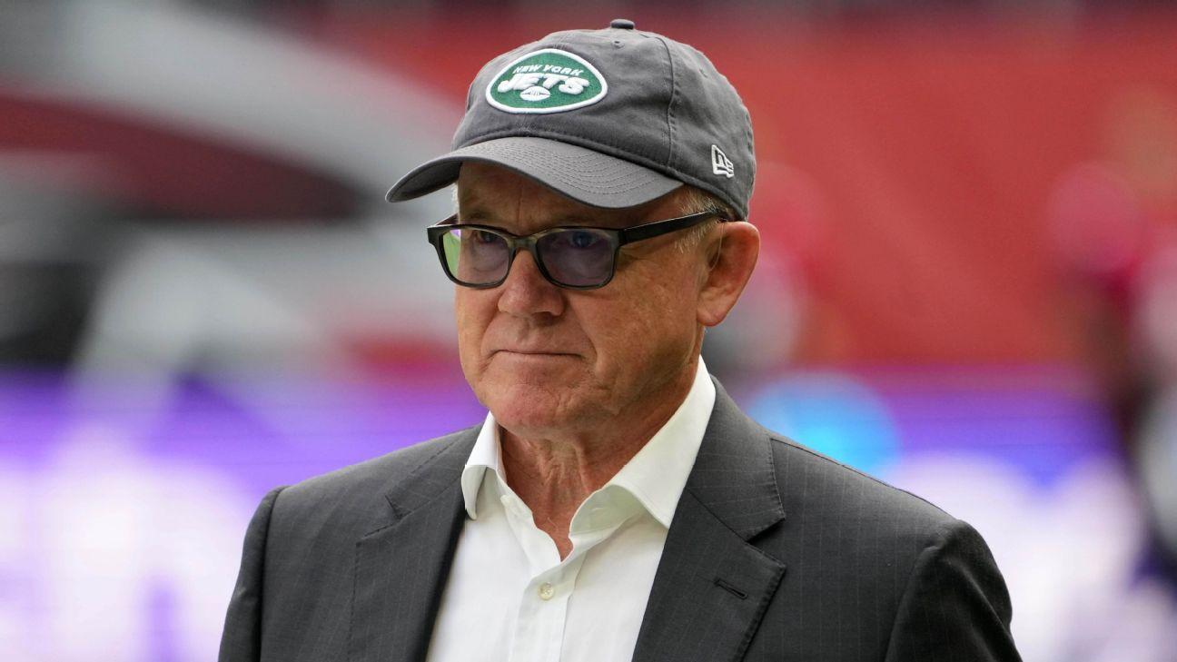 New York Jets owner Woody Johnson confident GM Joe Douglas, coach Robert Saleh 'will get it right'