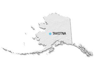 Mapa de Takotna