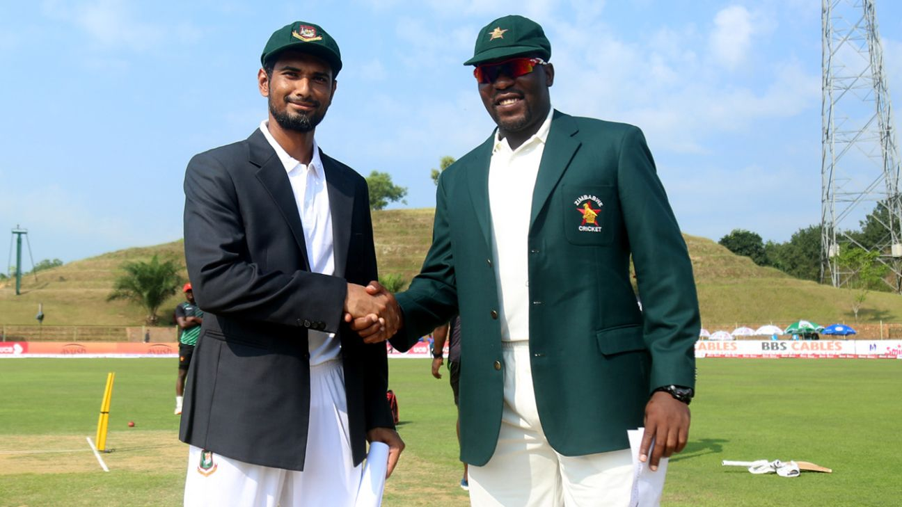 Zimbabwe tour of Bangladesh 2018/19 - Live Cricket Scores, Match