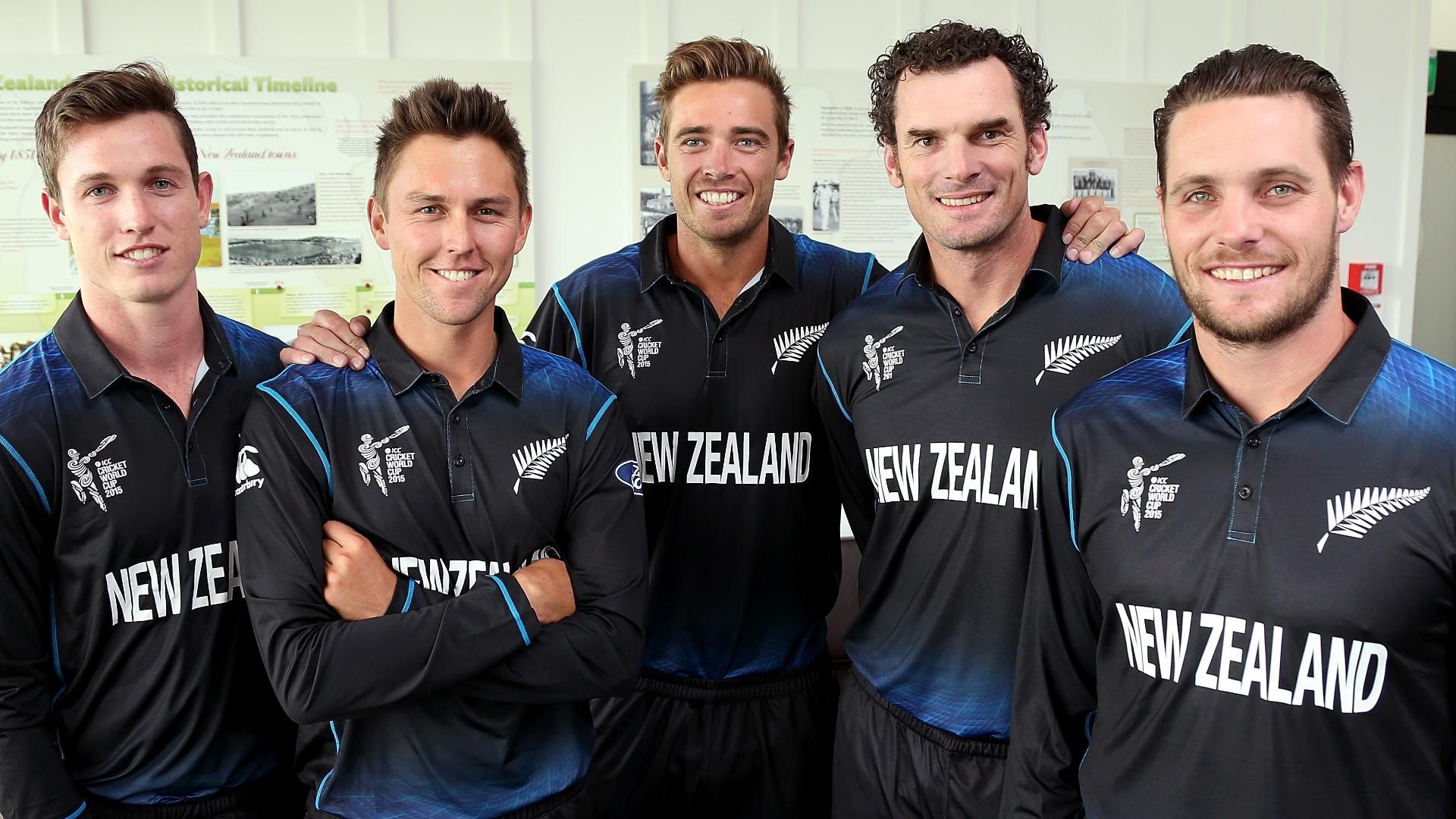 New Zealand Cricket Team Zoom Background 5