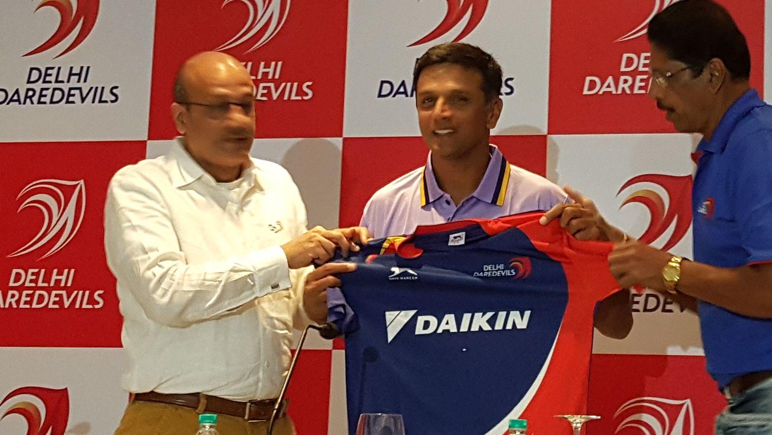 Image result for rahul dravid coach delhi daredevils