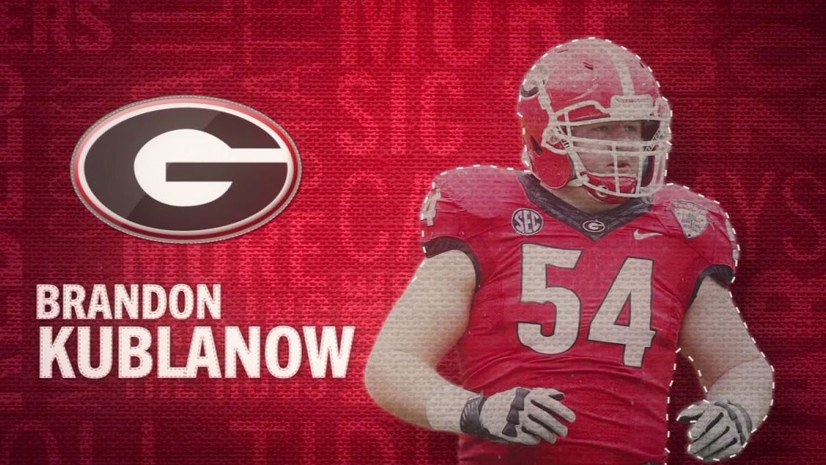 I am the SEC: Georgia's Brandon Kublanow