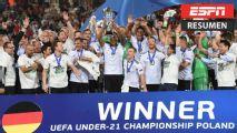 Resumen: Alemania, campeón de la Eurocopa Sub-21