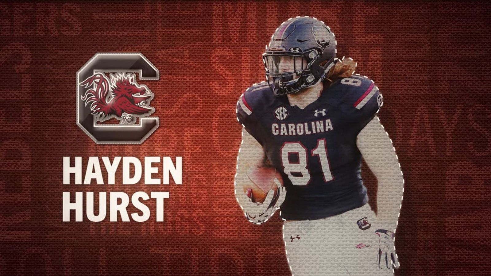 I am the SEC: South Carolina's Hayden Hurst