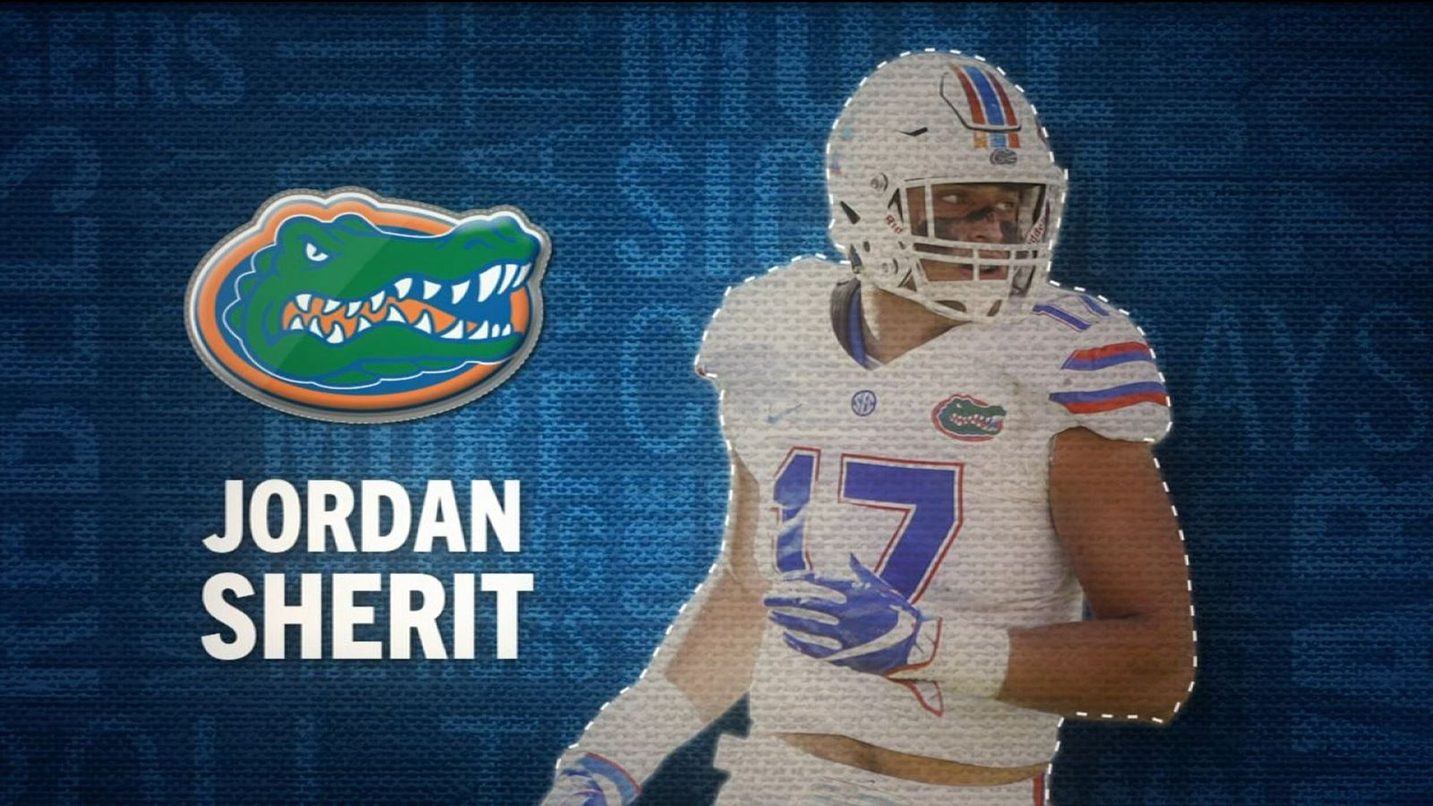 I am the SEC: Florida's Jordan Sherit