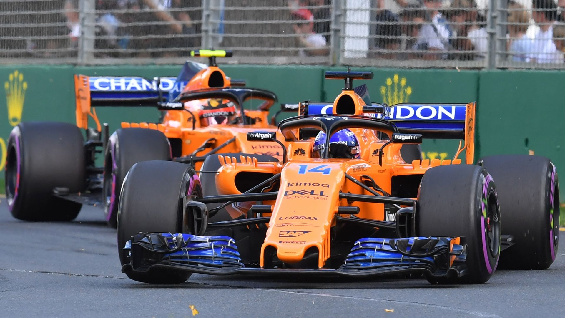 McLaren-Renault off to a strong start