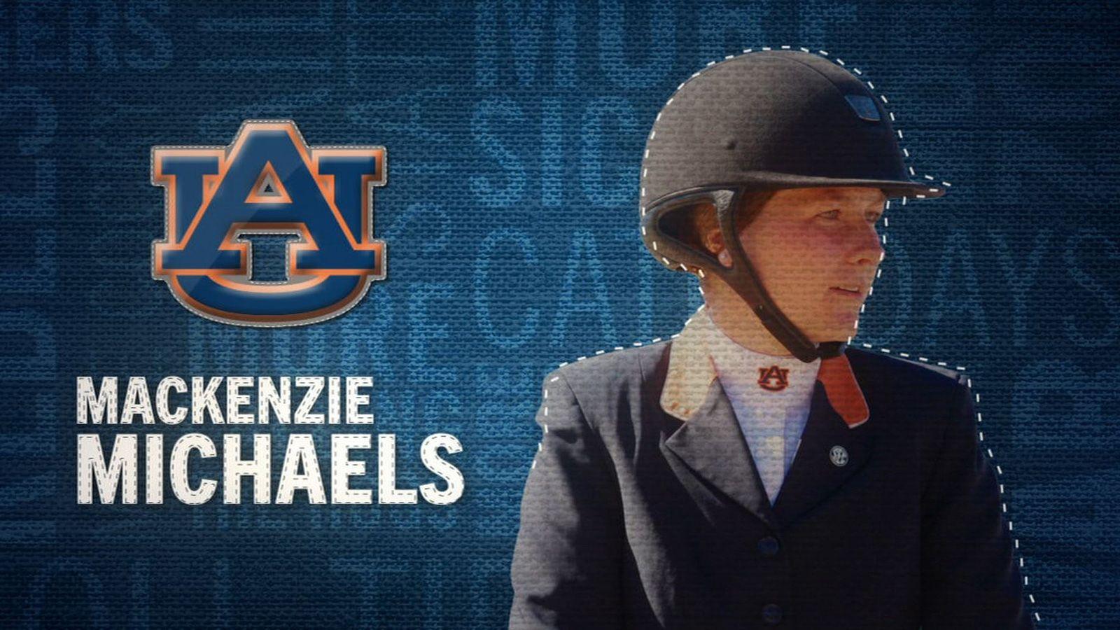 I am the SEC: Auburn's Mackenzie Michaels