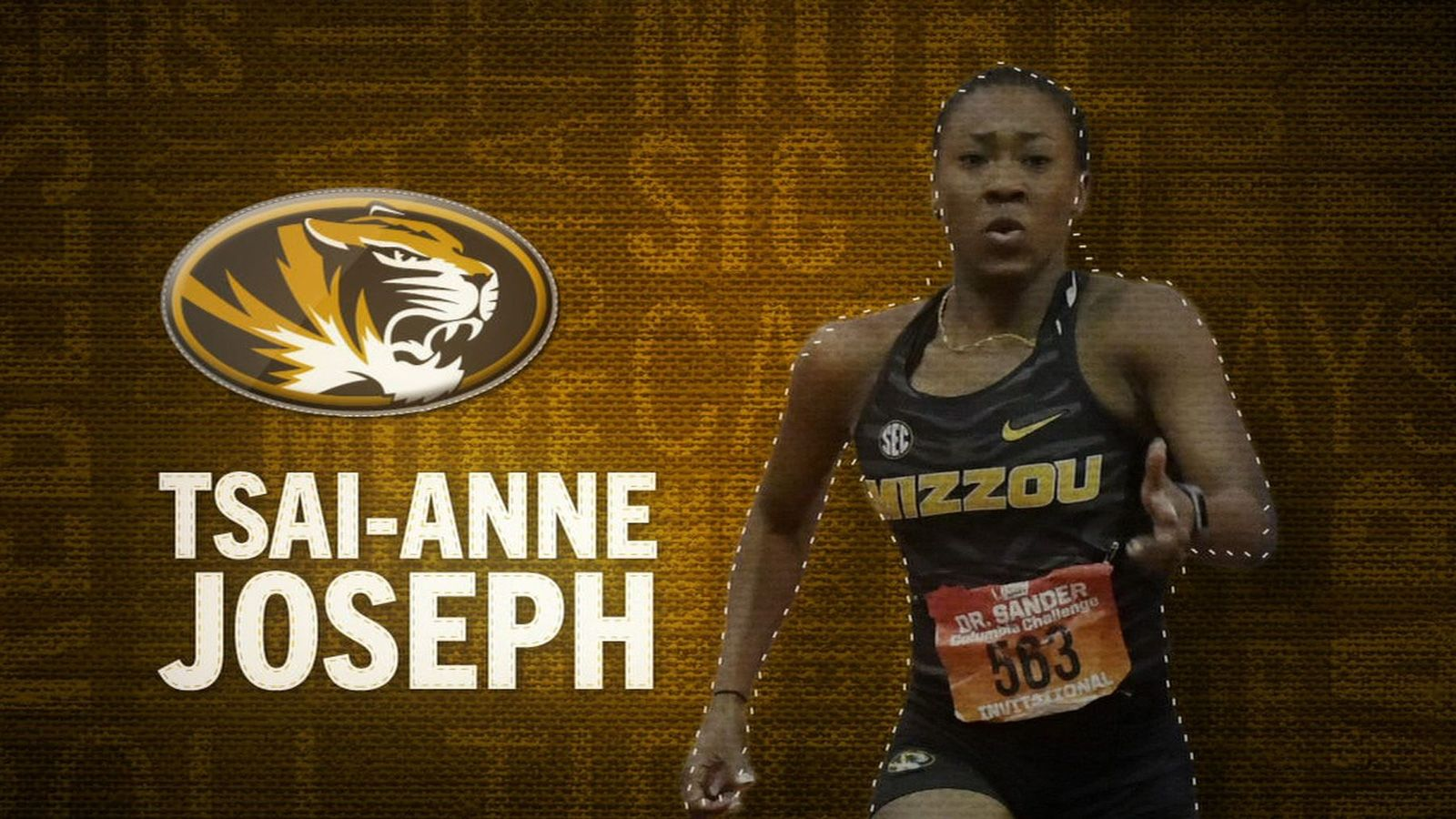 I am the SEC: Missouri's Tsai-Anne Joseph