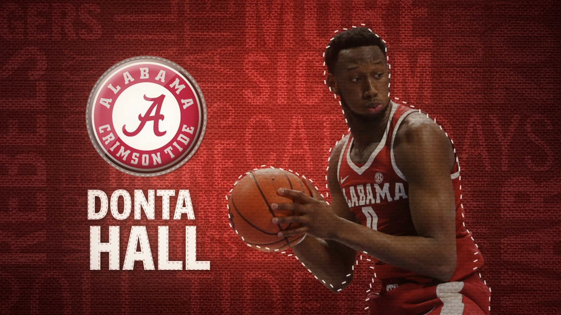 I am the SEC: Alabama's Donta Hall