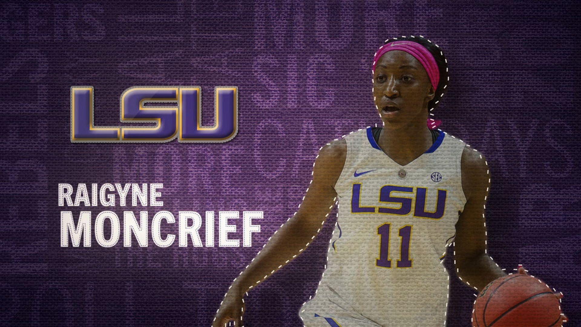 I am the SEC: LSU's Raigyne Moncrief